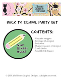 FREE Back to School Party Set