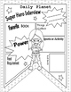 "FREE Back to School ""All About Me"" Super Hero Interview Sheets"