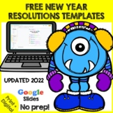 FREE - New Years 2019 - New Year's Resolutions