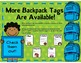 FREE Backpack Tags (B&W)
