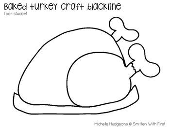 FREE Baked Turkey Craftivity