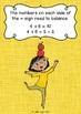 {FREE} Balancing Number Sentences - Math poster and worksheet on basic equations