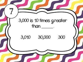 FREE Base 10 Place Value Boom Cards