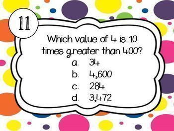 FREE Base 10 Place Value Digital Boom Cards