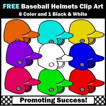 FREE Helmets Clipart, Baseball Clip Art, Team Clip Art, Summer Clipart