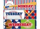 FREE!!! Baseball Theme Daily Drawer labels