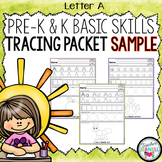 Alphabet Tracing, Number Tracing, and Shape Tracing Handwriting Practice FREE