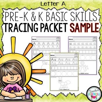 FREE Basic Skills Tracing Practice SAMPLE