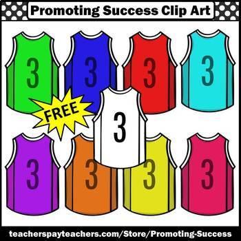 FREE Basketball Clipart, Jerseys Clipart, Sports Clip Art, Team Clipart