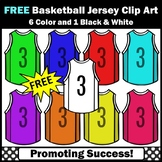 FREE Basketball Clipart, Jerseys Sports Theme SPS