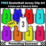 FREE Basketball Clipart, Jerseys Sports Theme SPS