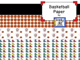 FREE Basketball Paper {Kady Did Doodles}