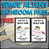 FREE Bathroom Pass - Space Theme