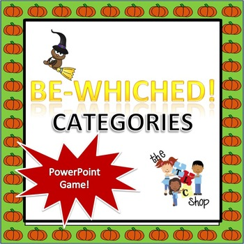 FREE! Be-Whiched Categories PowerPoint