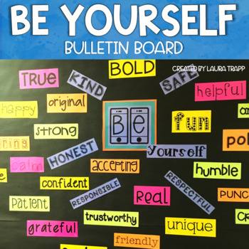 FREE! Be Yourself Bulletin Board Kit