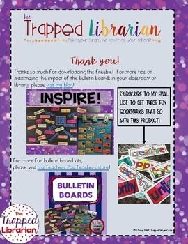 FREE! Be Yourself Bulletin Board Kit