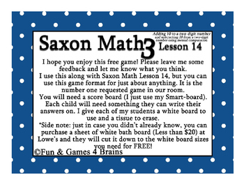 FREE Beat the Teacher game instructions