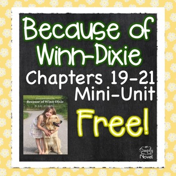 Because of Winn-Dixie Unit Plan