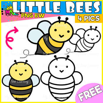 FREE Bee Clipart!!!