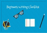 FREE Beginners Writing Checklist