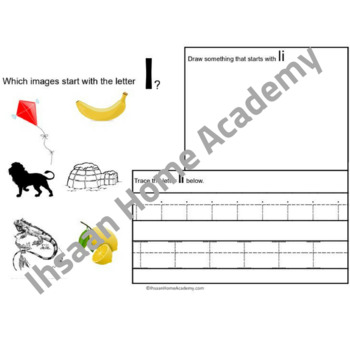 FREE Beginning Letter Sounds and Recognition - Letters H to M