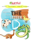 FREE - Beginning Sound - The Letter D