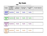 FREE Behavior Chart Template