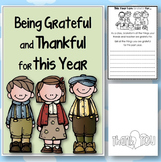 FREE Being Grateful and Thankful for the Year