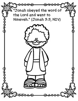 Jonah and the Whale Bible Lesson (1st-4th grade)