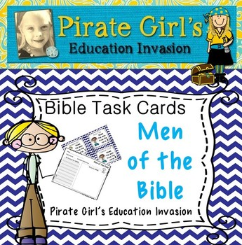 FREE Bible Task Cards: Men of the Bible