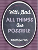 FREE Bible Verse Printable Posters