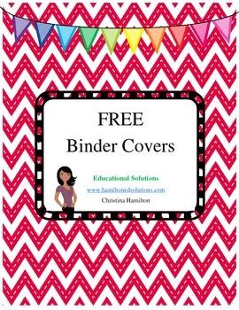 free binder covers by christina hamilton teachers pay teachers