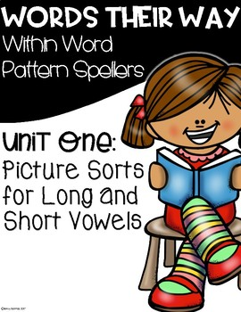 FREE Binder Covers for Words Their Way Within Word Pattern Spellers