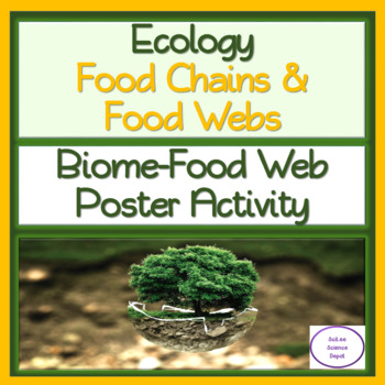 FREE: Biome and Food Web Poster Activity