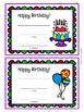 FREE Birthday Awards