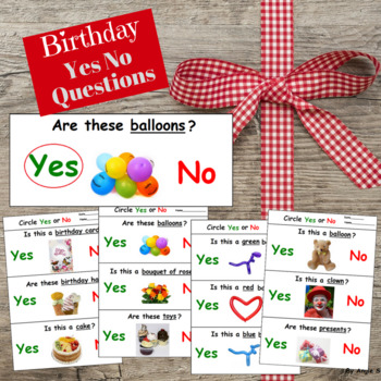 FREE Birthday Yes No Questions