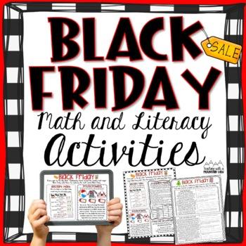 FREE Black Friday Math and Literacy Activity