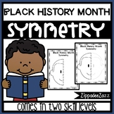 FREE Black History Month Symmetry Drawing Activity for Art and Math SAMPLE