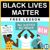 Black Lives Matter: Free Anti-Racism Lesson for Middle & H