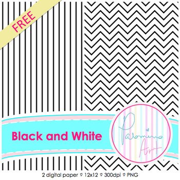 FREE Digital Papers: Black and White