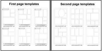 FREE Blank Cartoon Templates for FVR Cartoon Library