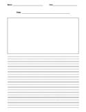 FREE! Blank writing worksheet
