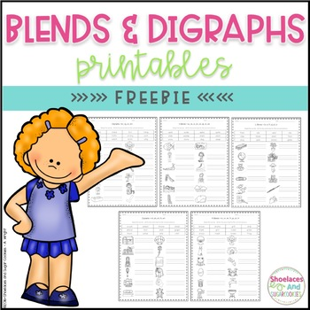 FREE Blends and Digraphs Printables