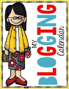 FREE Blogging Calendar Covers