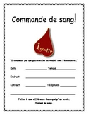 FREE Blood Drive Flyer - French