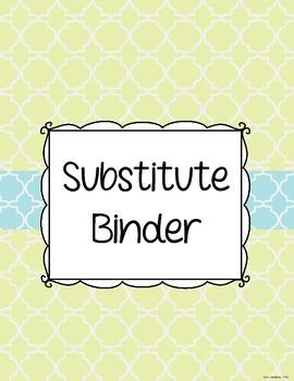 Teacher Binder Covers {FREE}