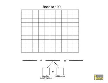 Bond to 100 Pictorial Representation using 100 Chart
