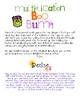 FREE Boo Bump Halloween Math Game (Multiplication)