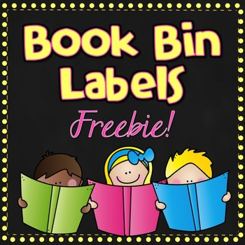 FREE Book Bin Labels {BANDED} for the Upper Elementary Levels