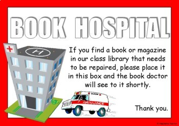 FREE Book Hospital Signs